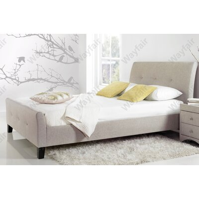 Home & Haus Wolseley Upholstered Sleigh Bed