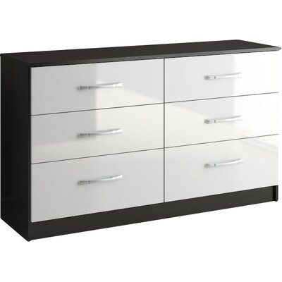 Home & Haus Lincoln 6 Drawer Chest