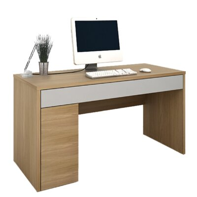 Home & Haus Ceema Computer Desk with Cable Management