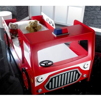 Home & Haus Firefighter Car Bed