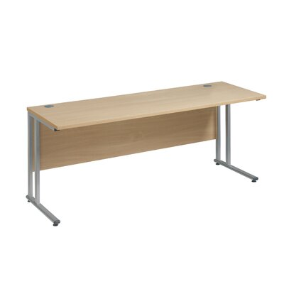 Home & Haus Maestro 25 SL Desk Shell with Cable Management