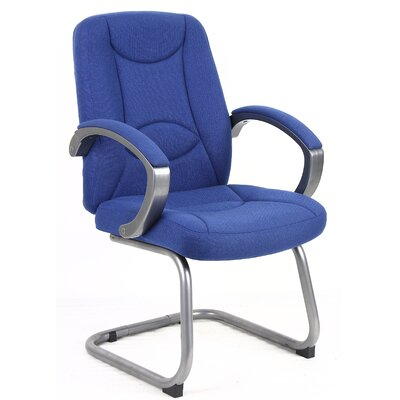Home & Haus Lucca Fabric Visitor Chair