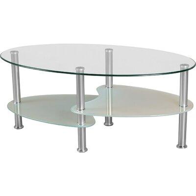 Home & Haus Fleetwood Coffee Table with Magazine Rack