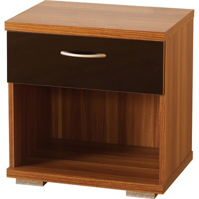 Home & Haus Shearwater 1 Drawer Bedside Table