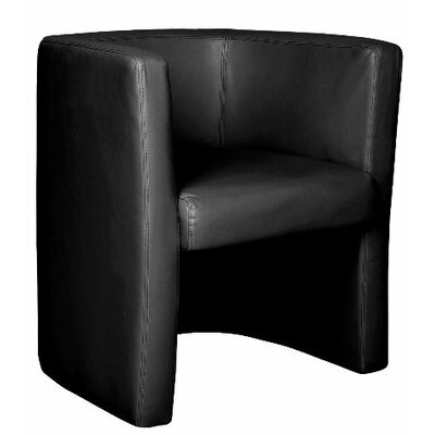 Home & Haus Reception Leather Faced Tub Chair