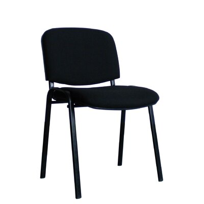 Home & Haus Armless Multipurpose Seating Conference / Meeting Stacking Chair with Cushion