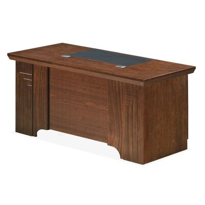 Home & Haus Executive Desk with Keyboard Tray