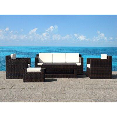 Home & Haus Roma 5 Seater Sofa Set with Cushions