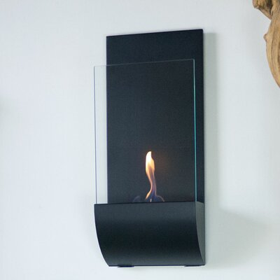 Torcia Wall Mounted Bio-Ethanol Fireplace