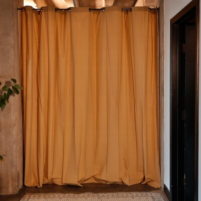 Muslin Room Divider Color: Wheat