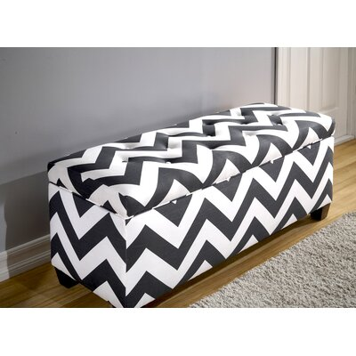 Upholstered Storage Bench Size: Large
