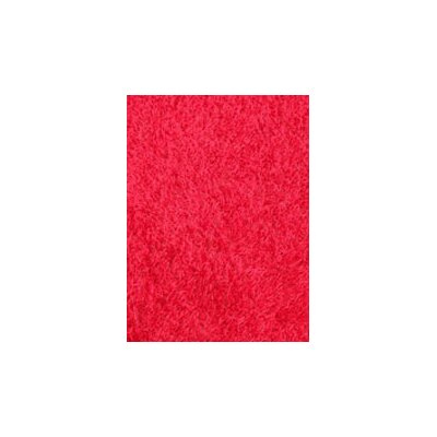 Coralie Flooring Shimmer Hand-Tufted Red Area Rug