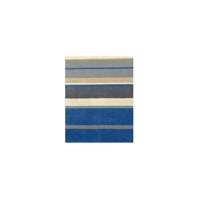 Coralie Flooring Jubilee Hand-Loomed Blue Area Rug