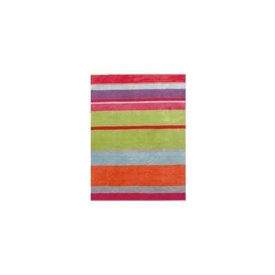 Coralie Flooring Jubilee Hand-Loomed Red Area Rug