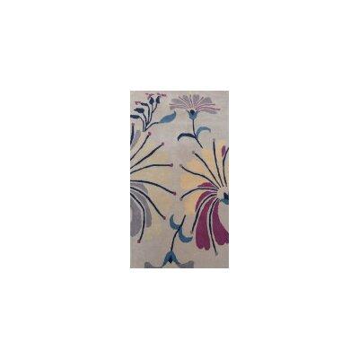Coralie Flooring Zinnia Hand-Tufted Brown Area Rug
