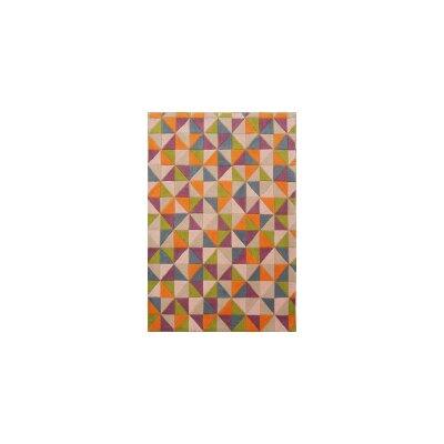 Coralie Flooring Influence Hand-Tufted Purple Area Rug