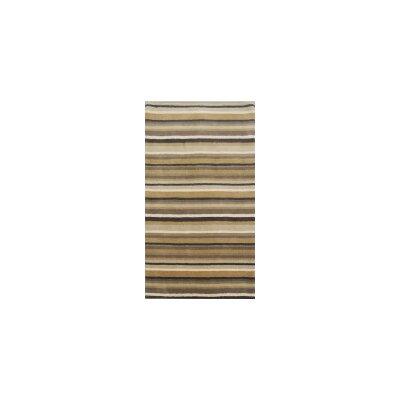 Coralie Flooring Jubilee Hand-Loomed Beige/Black Area Rug