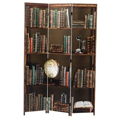 Sneed Books 3 Panel Room Divider