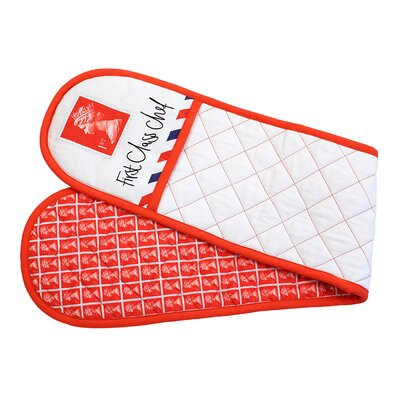 Gift Republic Stamp Double Oven Glove