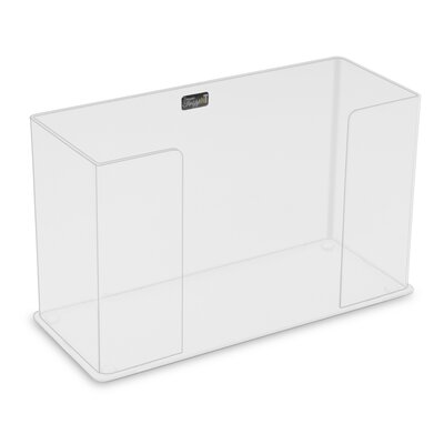 Paper Counter Top Towel Holder Color: Clear