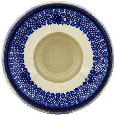 Polish Pottery Bleu-belle Fleur Heater