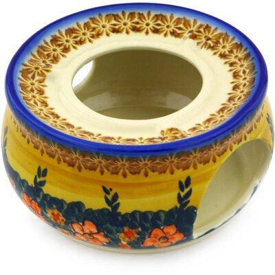 Poppy Love Polish Pottery Heater