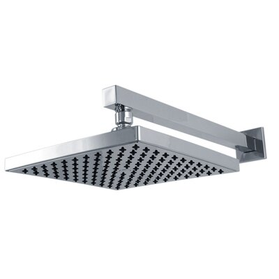 Francis Pegler Waterfall 22cm Square Fixed Shower Head