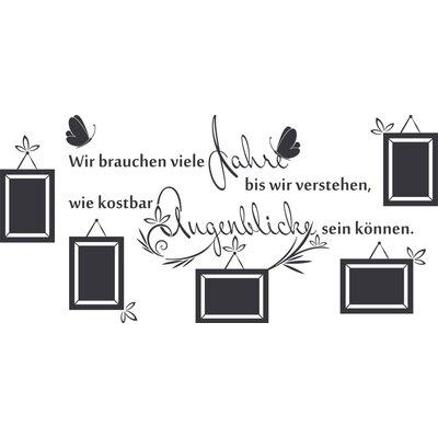 Graz Design Wandtattoo Augenblicke - 57 x 120 cm