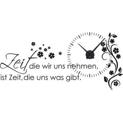 Graz Design Analoge Wanduhr Zitat
