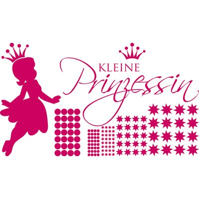 Graz Design Wandtattooset Prinzessin - 57 x 100 cm