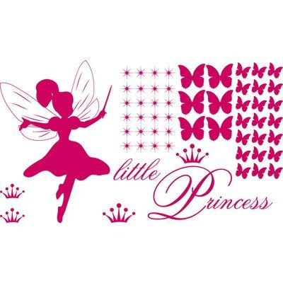 Graz Design Wandtattooset little Princess - 57 x 100 cm