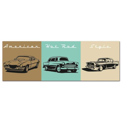 Graz Design Acrylglasbild American Hot Road