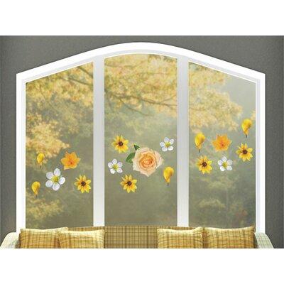 Graz Design Glastattoo Blumen, Rosen