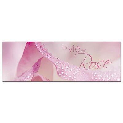 Graz Design Acrylglasbild La vie en Rose