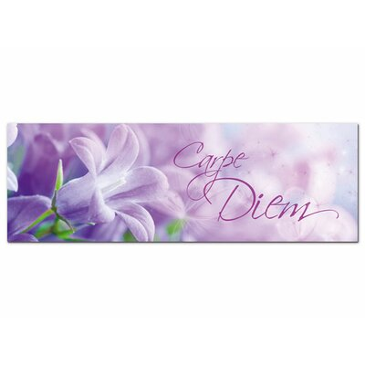 Graz Design Acrylglasbild Carpe Diem, Blüten