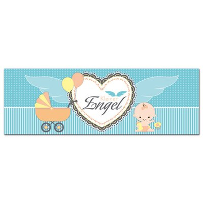 Graz Design Acrylglasbild Kleiner Engel, Baby, Flügel