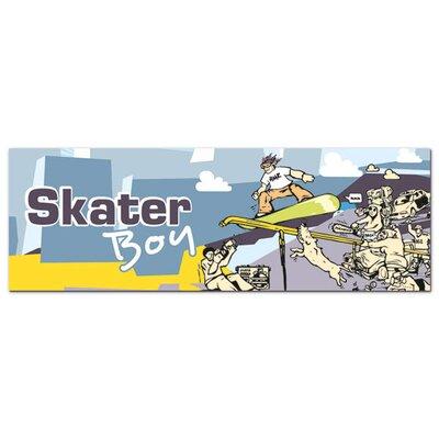 Graz Design Acrylglasbilder Skaterboy, Skateboards