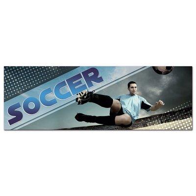 Graz Design Acrylglasbild Soccer, Fußballspieler