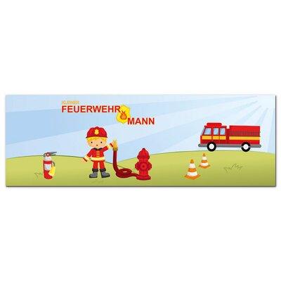 Graz Design Acrylglasbild Kleiner Feuerwehrmann