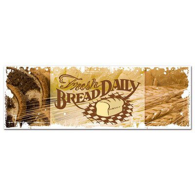 Graz Design Acrylglasbild Fresh Bread