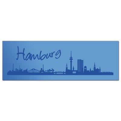 Graz Design Acrylglasbild Hamburg, Skyline