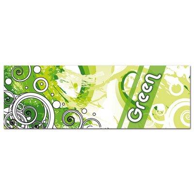 Graz Design Acrylglasbild Grüne Kreise