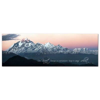 Graz Design Acrylglasbild Kraft, Berge, Wolken