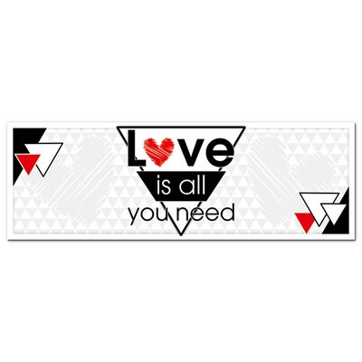 Graz Design Acrylglasbild Love is All You Need