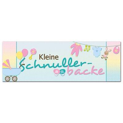 Graz Design Acrylglasbild Kleine Schnullerbacke