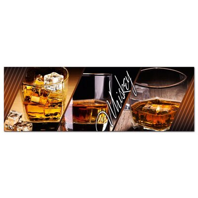Graz Design Acrylglasbild Whiskey Gläser