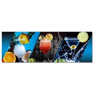Graz Design Acrylglasbild Cocktails, Getränke
