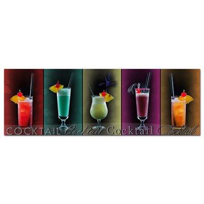 Graz Design Acrylglasbild Cocktail, bunt