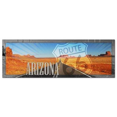 Graz Design Acrylglasbild Arizona, Route 66, Straße