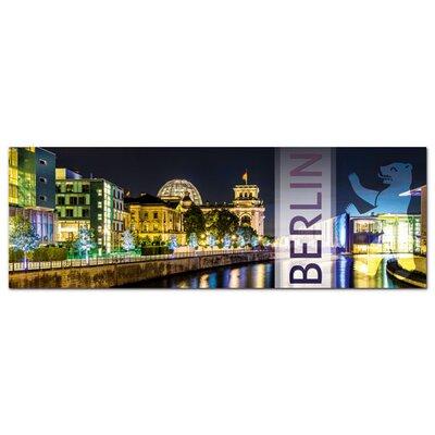 Graz Design Acrylglasbild Berlin, Bär, Bundestag